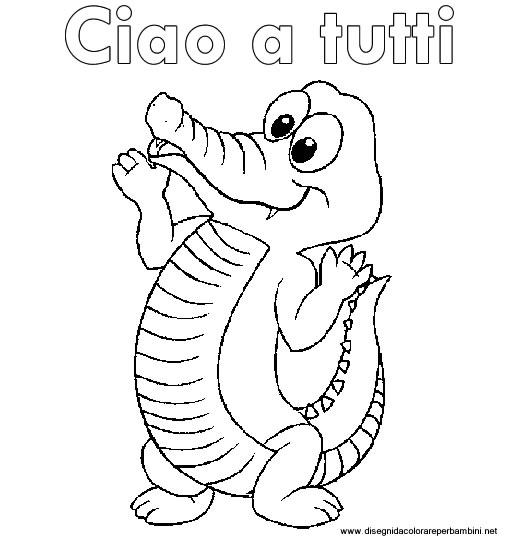disegni coccodrilli disegni coccodrilli da colorare