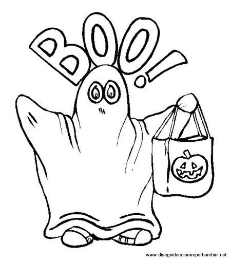 Disegni halloween - Disegni halloween da colorare